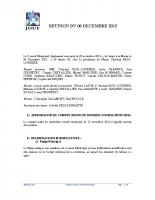 Séance du 06 Decembre 2012